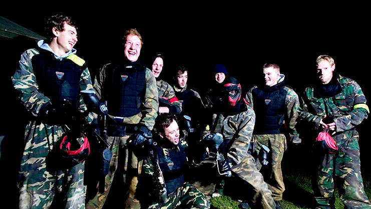Stag Group Paintball Newcastle