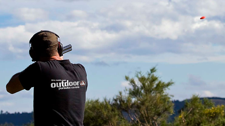 Clay Pigeon Shooting near Newcastle with The North East Outdoor Pursuits Centre